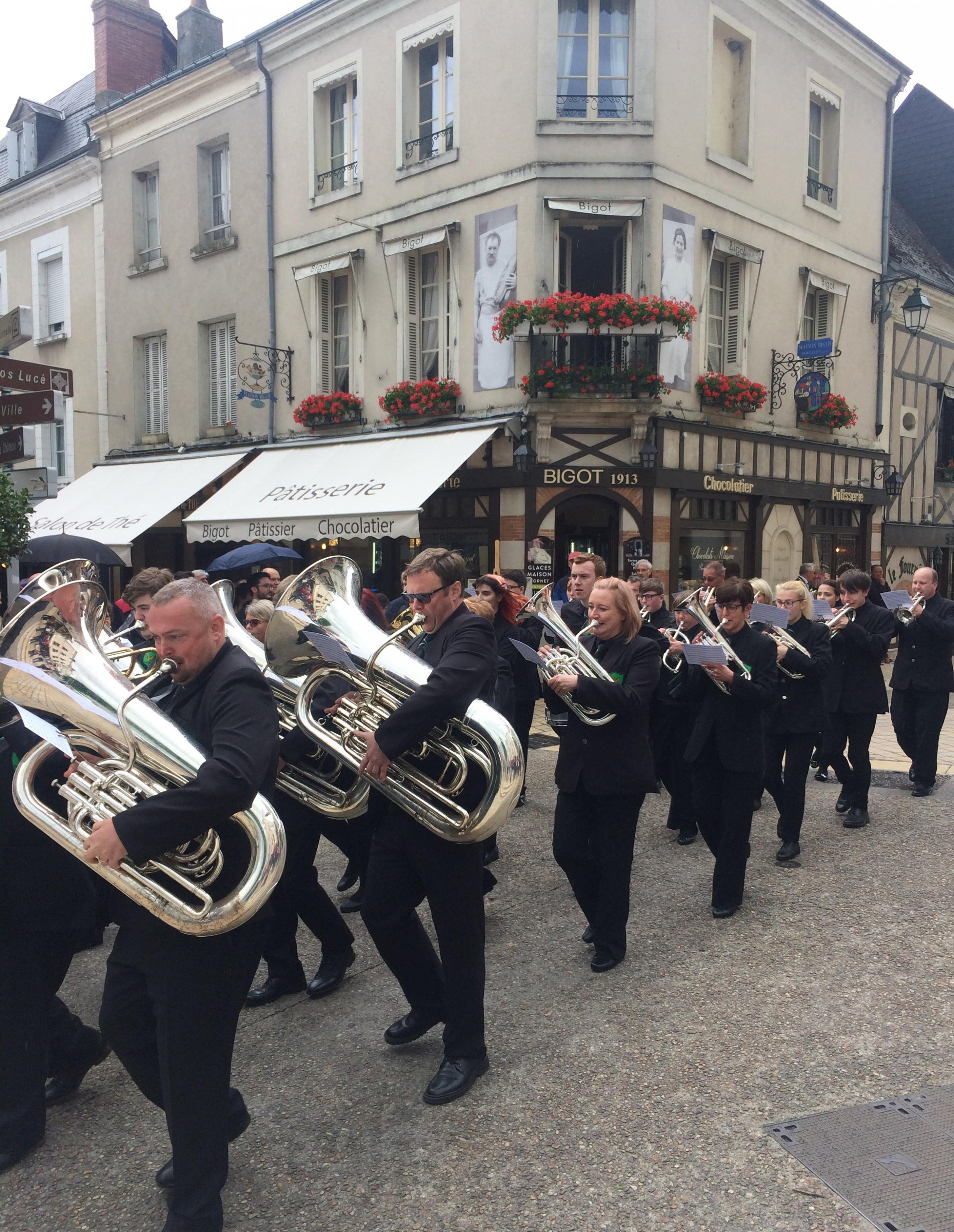 Eagley Brass Band's success in French Open Brass Band Championships