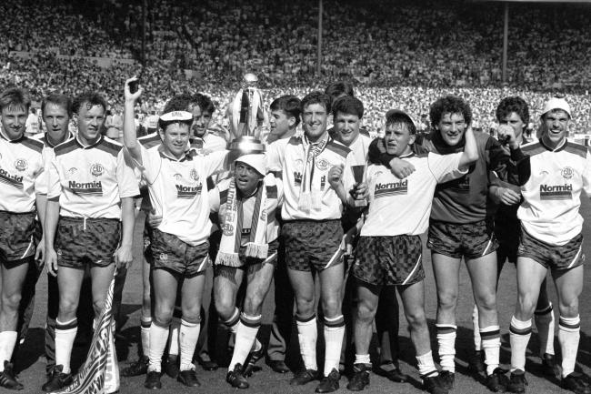 The 1989 Sherpa Van Trophy winning side finished 10th in the table with 64 points - which could be the benchmark for what is needed next season