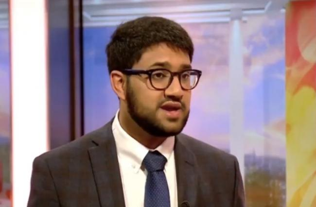 CONCERNED: Saeed Atcha speaking about the Elitist Britain report on BBC Breakfast. Picture: BBC