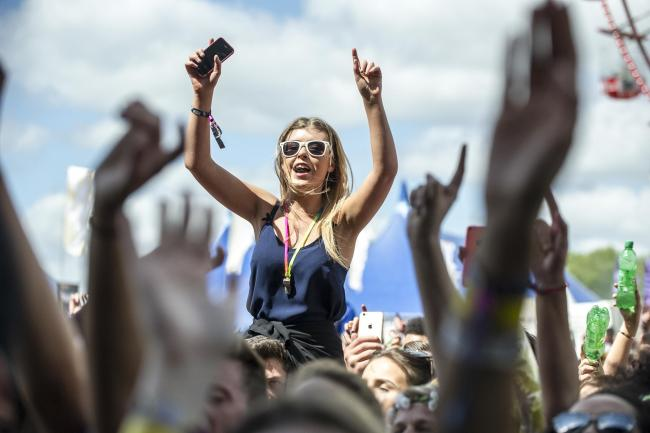 Fans enjoy the show at the Parklife 2015 music festival held in Heaton Park, Manchester on Sunday 7th June 2015. Photo by Andy Whitehead Photography Ltd. Copyright Newsquest (North West), Sunday 7th June 2015..