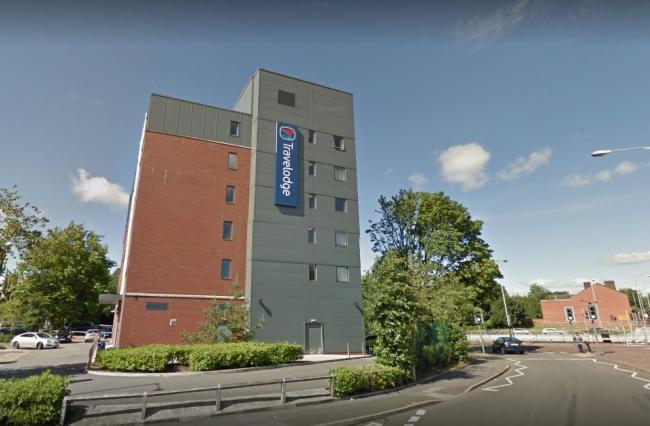 ATTACK: Travelodge in Bolton town centre