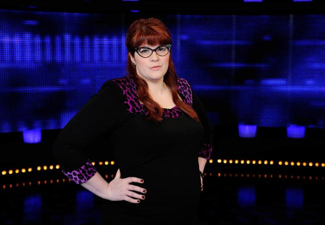 Chaser Jenny Ryan .The Chase, returns after a summer break with a brand new Chaser joining the ultra clever clan..