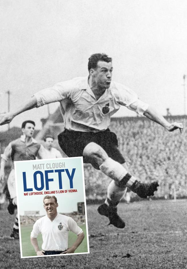 New book examines highs and lows of Wanderers legend Nat Lofthouse