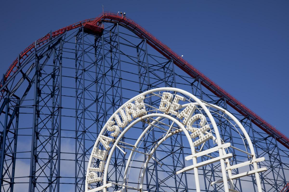 Chance to walk up The Big One at Blackpool Pleasure Beach ...