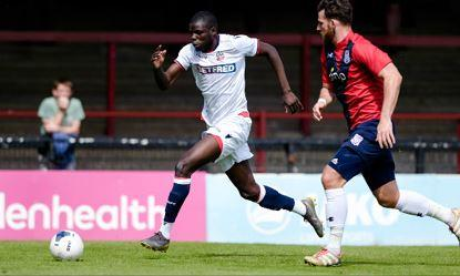 Yoann Zouma impressed for Wanderers their defeat at York