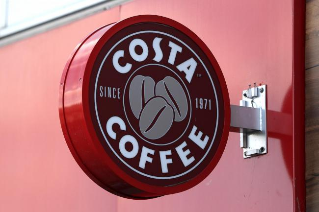 The incident happened outside Costa Coffee