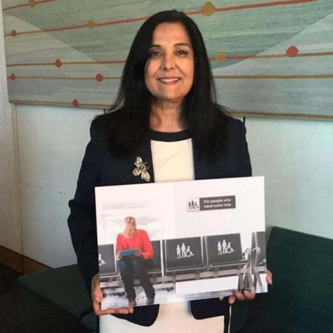 Yasmin Qureshi MP supporting the #AnyDisability Campaign