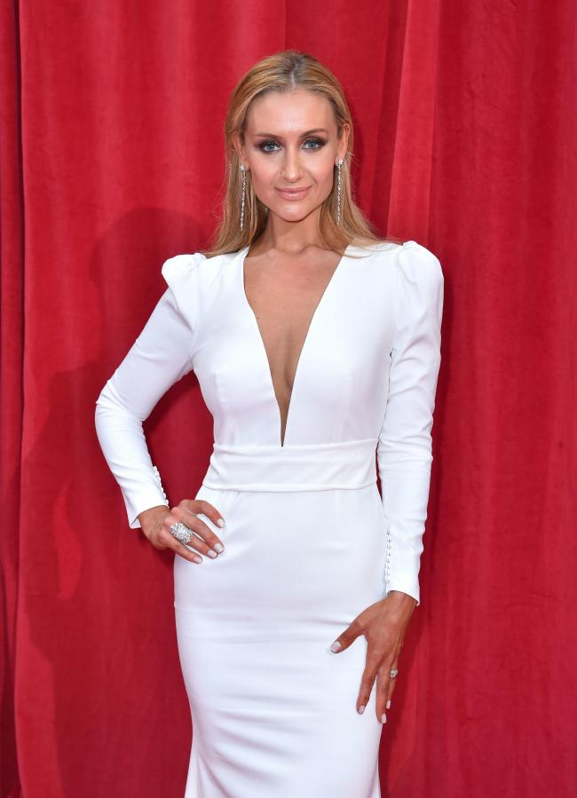 LINE-UP: Catherine Tyldesley. Credit: Matt Crossick/PA Wire