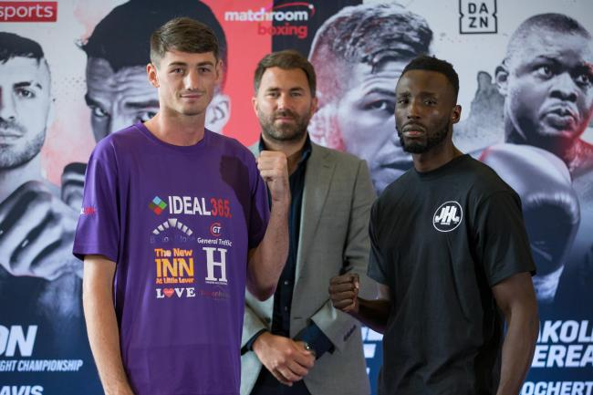 Jack Cullen faces John Harding Jnr tonight. Picture: Matchroom Boxing