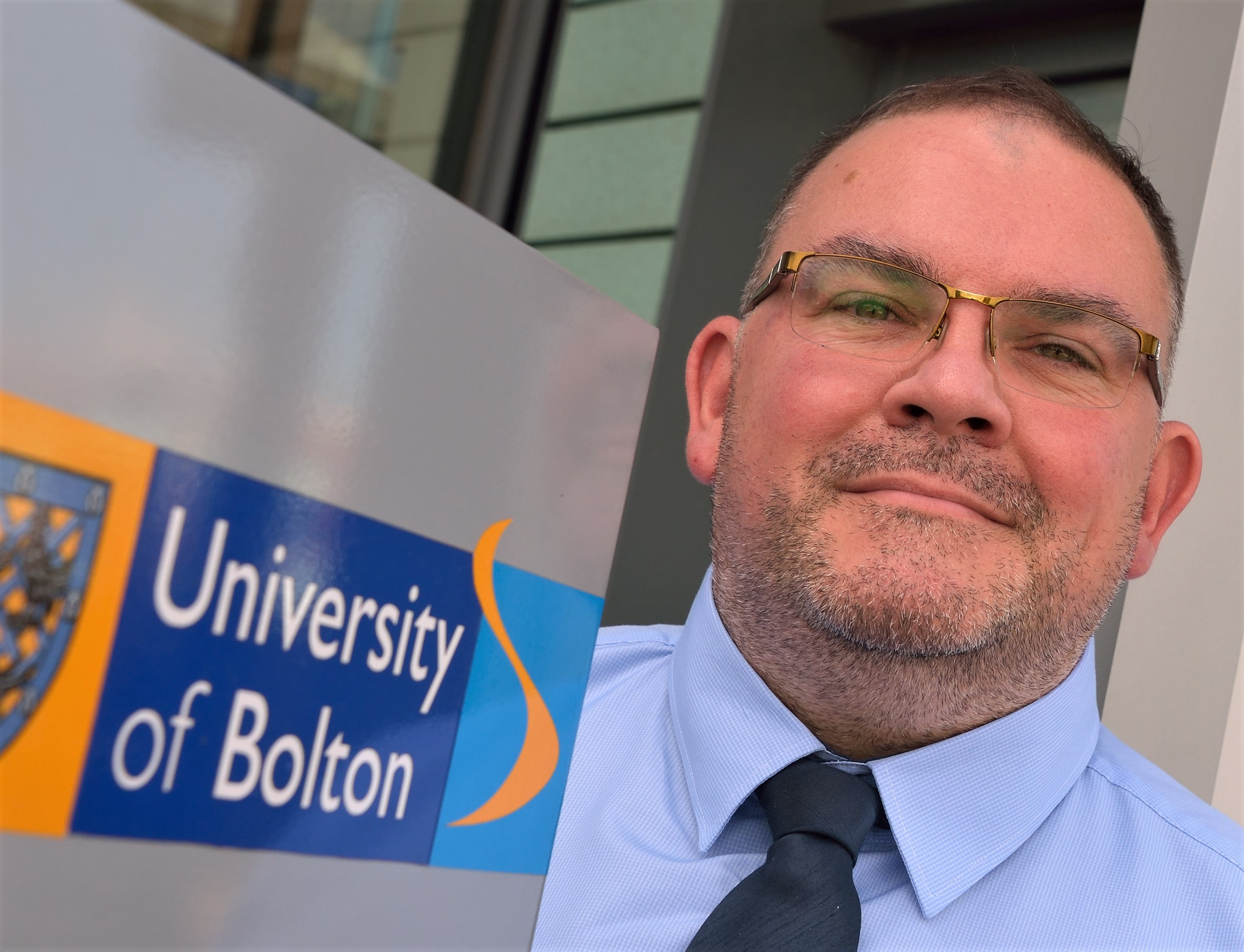 University of Bolton professor is top of the class