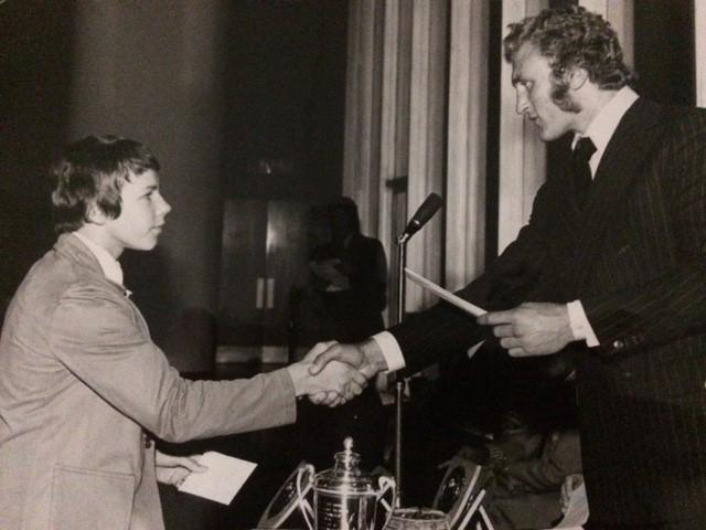 Joe Bugner receives greeting message from Bolton's mMyor