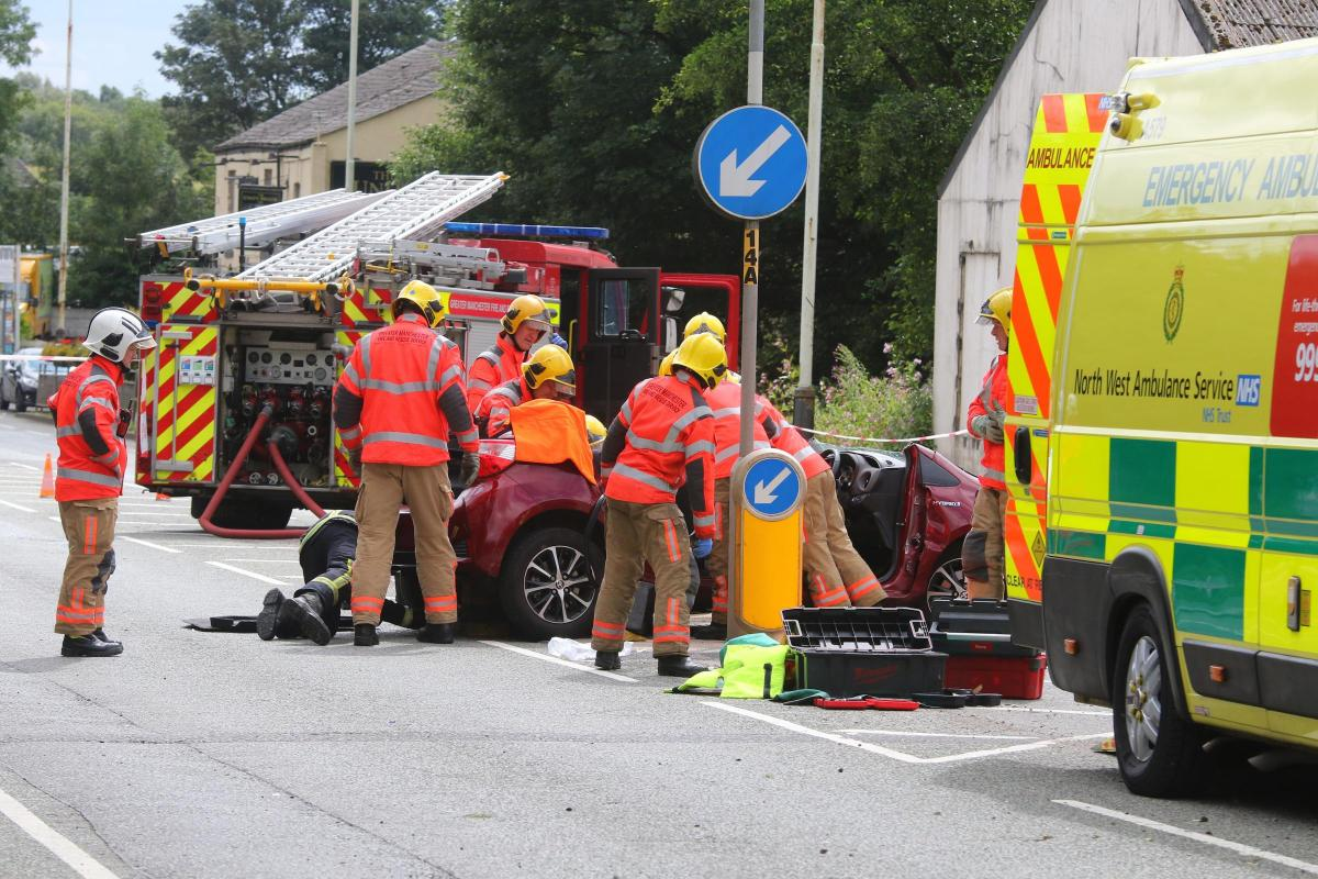 Manchester Road Kearsley reopened following an accident