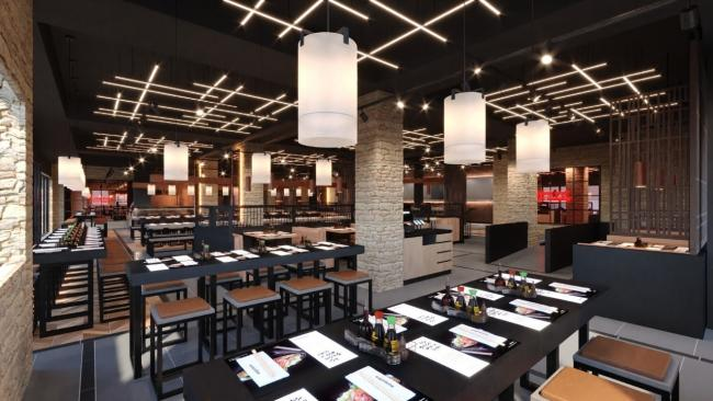 SOPHISTICATED: An image of what the new Bolton Wagamama could look like inside