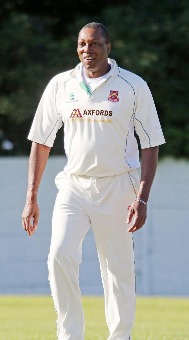 FIVE-FOR: Farnworth bowler Victor Walcott took five wickets for the second XI