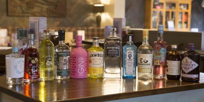 Gin Festival in two Wetherspoon pubs
