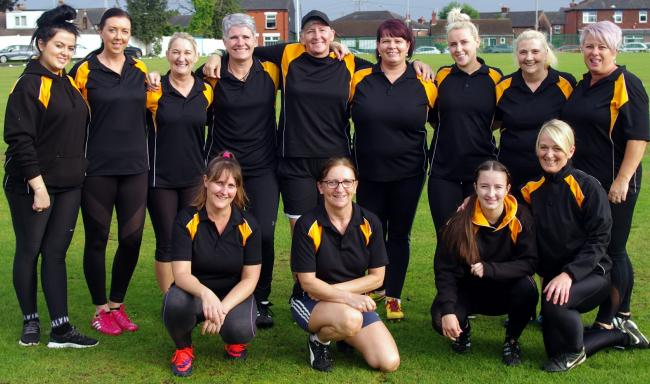 CUP QUEENS: Scissor Sisters won the Blackburn Shield