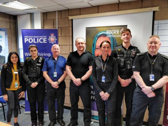 Officers working as part of the new Bolton North PBI