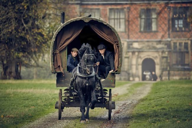 Arley near Warrington has featured in Peaky Blinders since series three. The hall where the scenes were filmed is open Tuesdays, Sundays and bank holidays