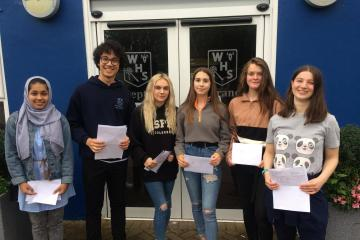 Westhoughton High School students celebrate birthdays and GCSEs - Photo