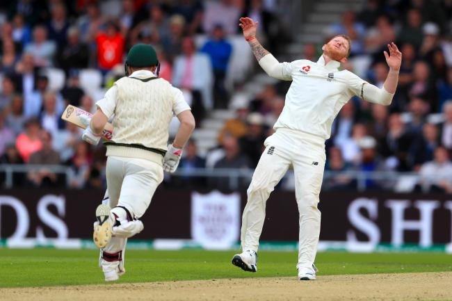 Ben Stokes cut a frustrated figure at Headingley