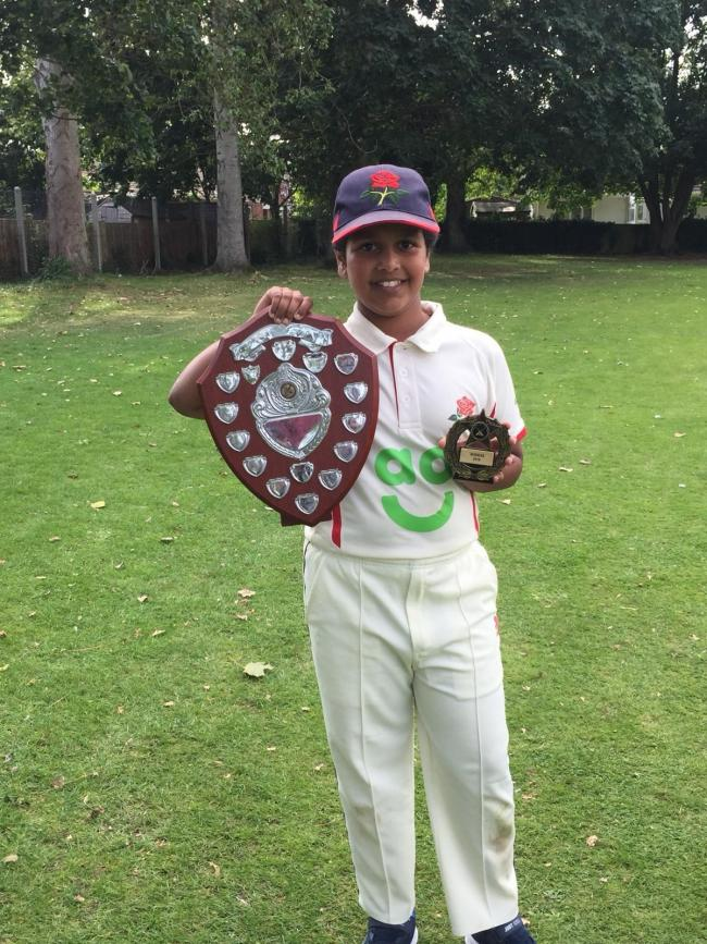 RISING STAR: Deane and Derby's Husaifa Patel