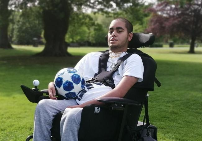 APPEAL: Ismail Patel was raising money for a new powerchair