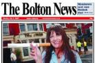 The front page of The Bolton News