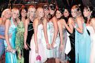 GLAMOUR GIRLS: Turton High School pupils enjoy their leavers' ball at Rivington Barn