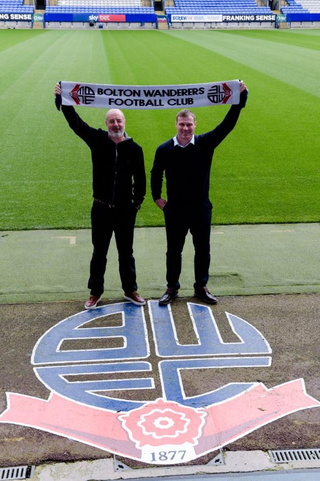 New Bolton Wanderers management team target return to good