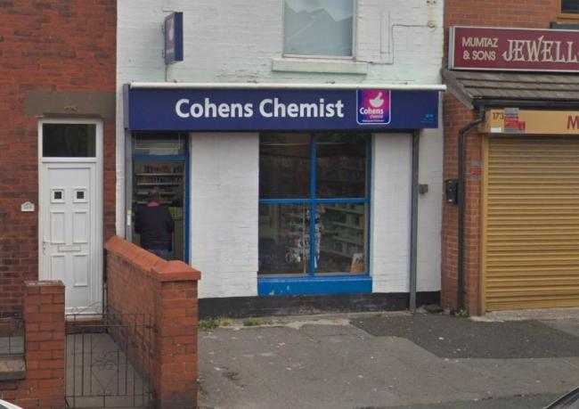 Cohens' Pharmacy on Crescent Road