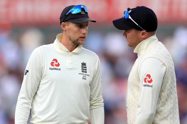 Joe Root (left) believes Jason Roy (right) still has a Test future