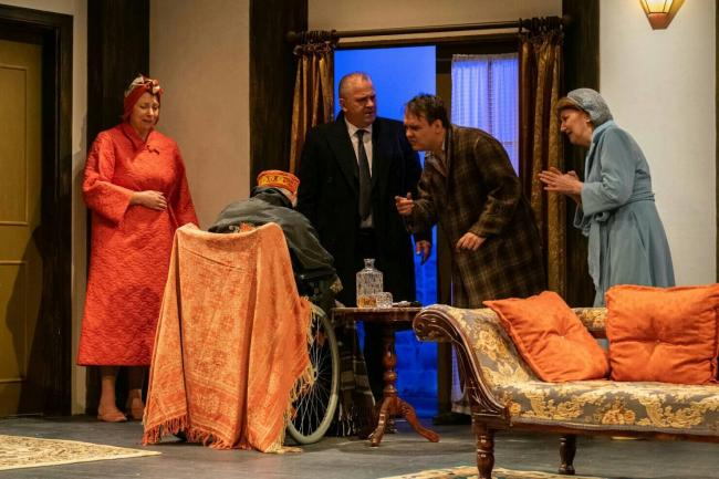 MYSTERY: Agatha Christie's An Unexpected Guest (Picture: Farnworth Little Theatre)