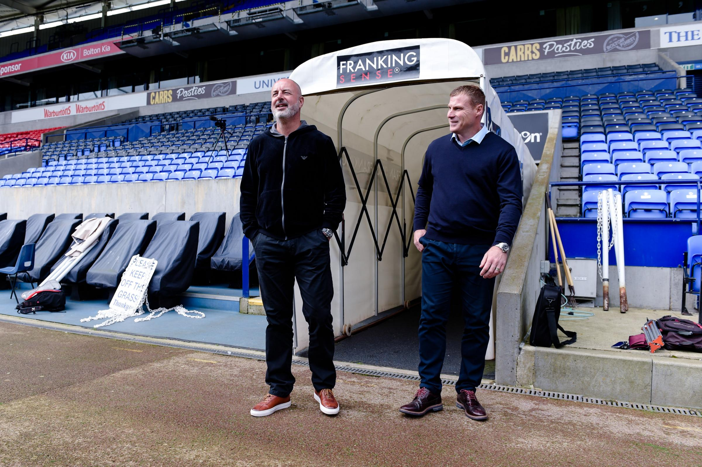 Bolton management duo's delight at Wanderers reunion