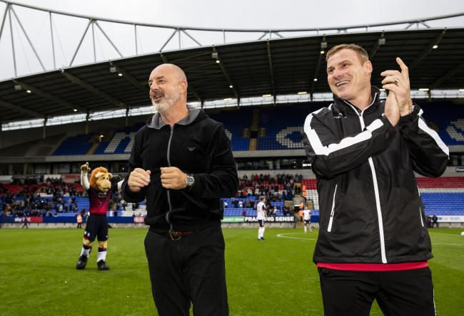 Keith Hill and David Flitcroft