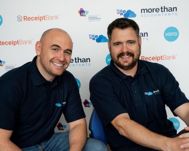 Daniel Rose and James Duffy, of More Than Accountants