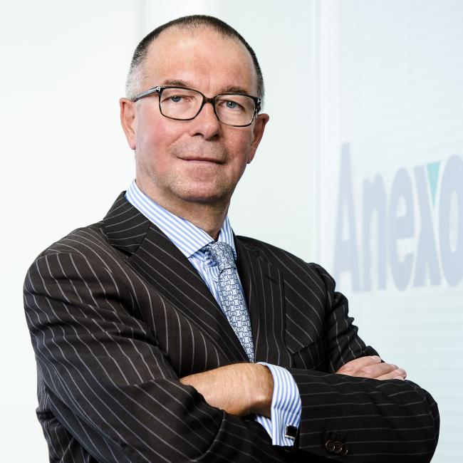 Allan Sellers, chairman of the Anexo Group, which includes Bond Turner