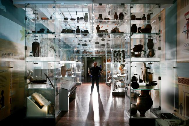 Picture: Lorne Campbell / Guzelian .The new Egypt Gallery within Bolton Museum, Bolton, Lancashire, opens tomorrow (Saturday 22 September 2018). A legacy of Victorian philanthropy, the Council's Egyptian collection has over 12,000 verified artefacts