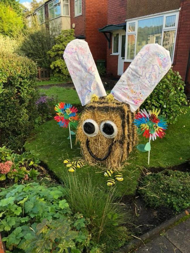 Last year's winning scarecrow was made by Bumblebee's Baby and Toddler Group