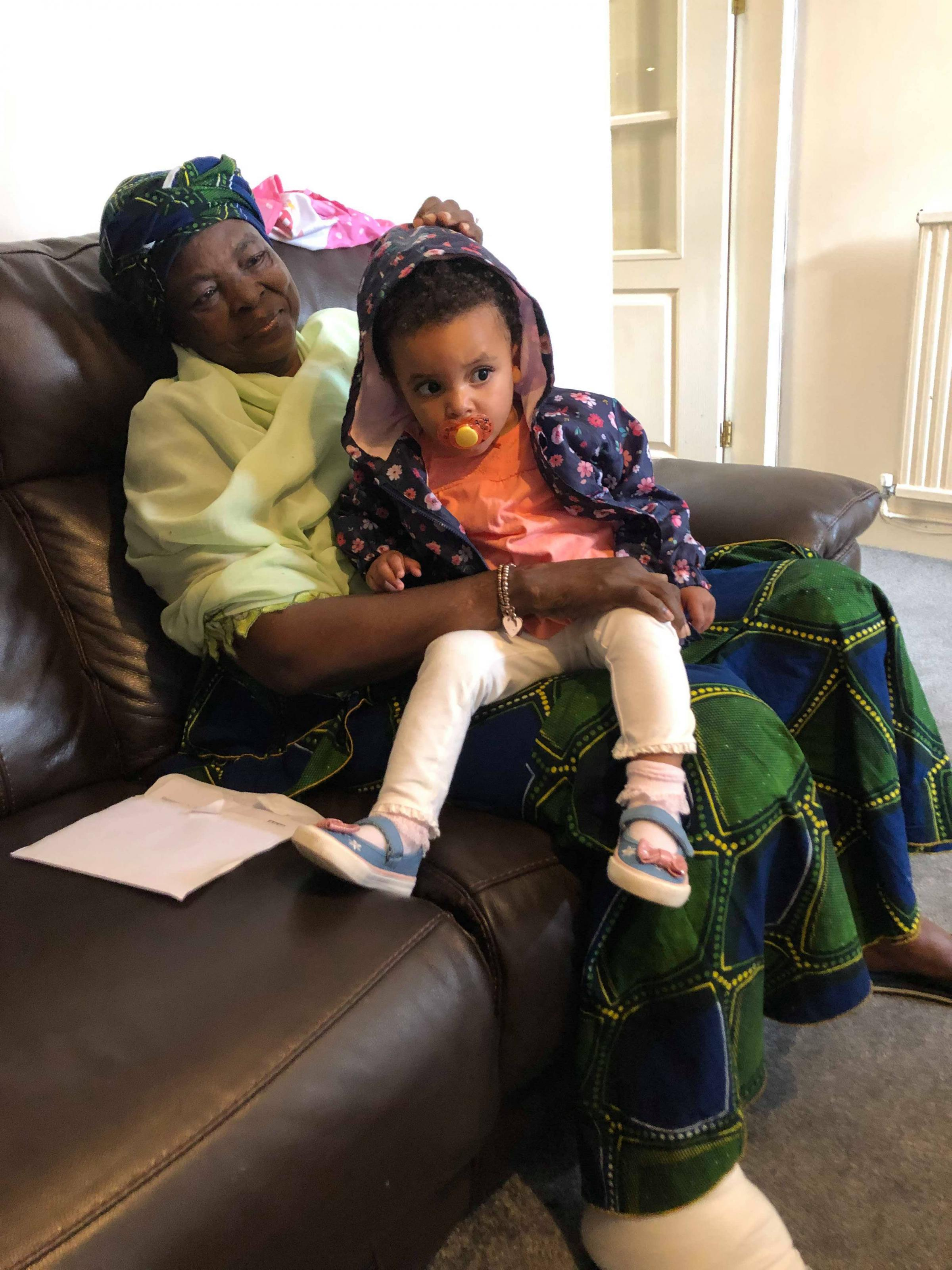 Mother's heartbreaking plea over £3,500 NHS bill while visiting granddaughter