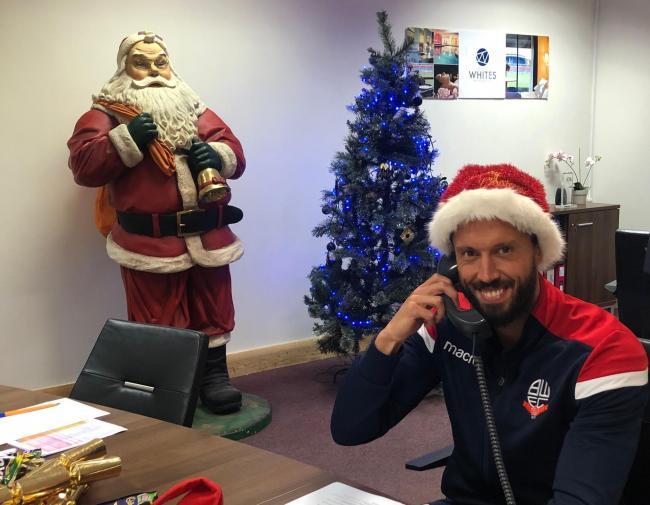 A Dream Of Christmas.Jason Lowe S A Dream For Whites Christmas The Bolton News