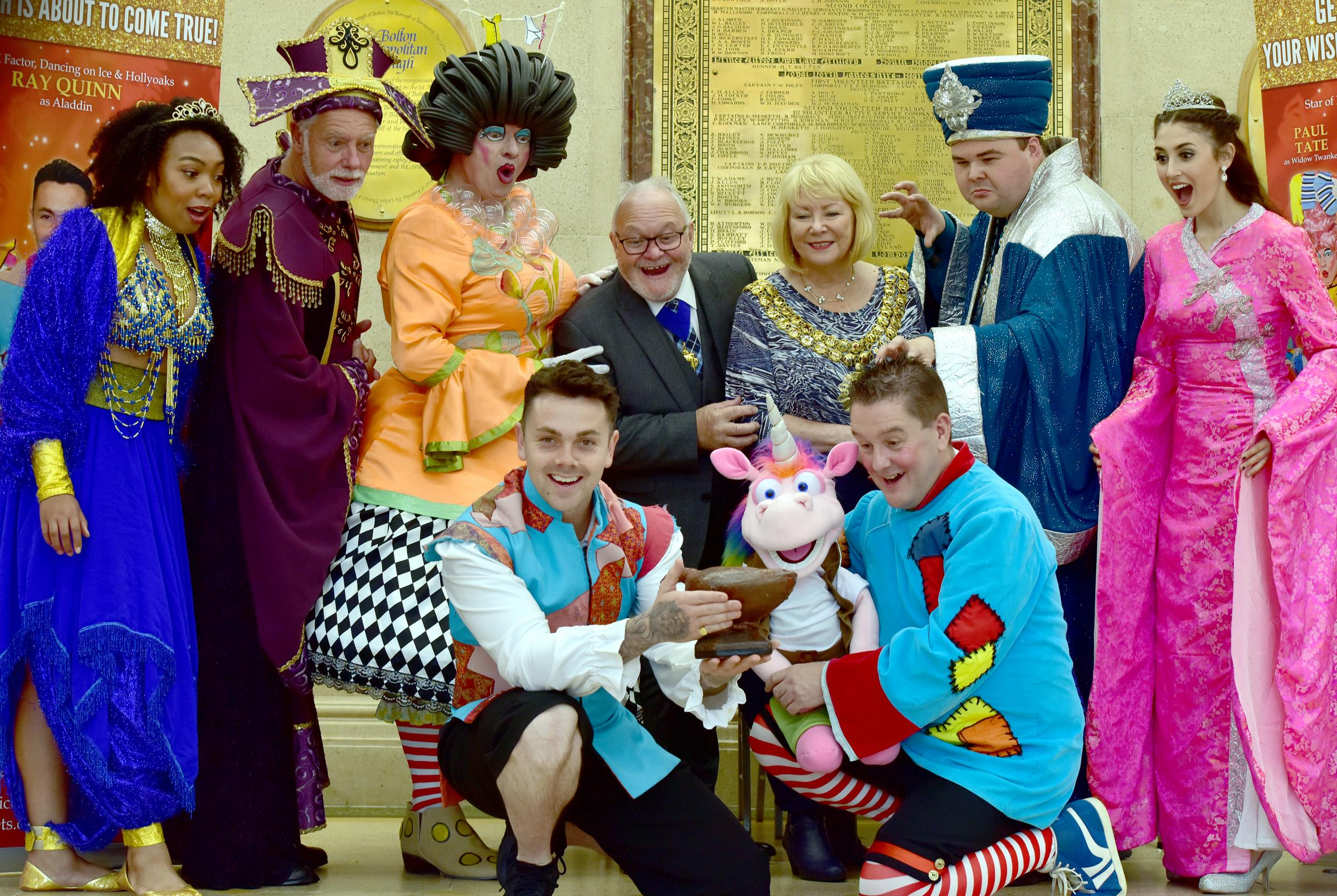 Aladdin panto promises to be biggest ever in Bolton