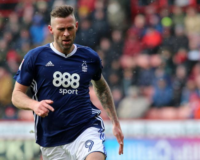 BIG TARGET: Daryl Murphy in action for Nottingham Forest last season