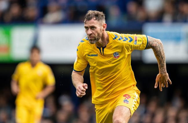 Bolton Wanderers striker Daryl Murphy made his debut at Portsmouth