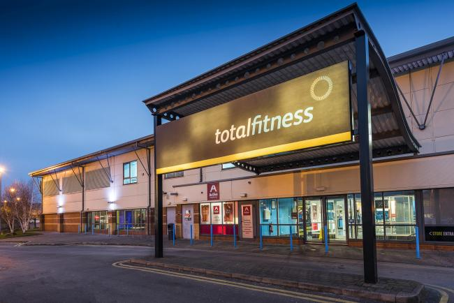 The Total Fitness gym in Bolton