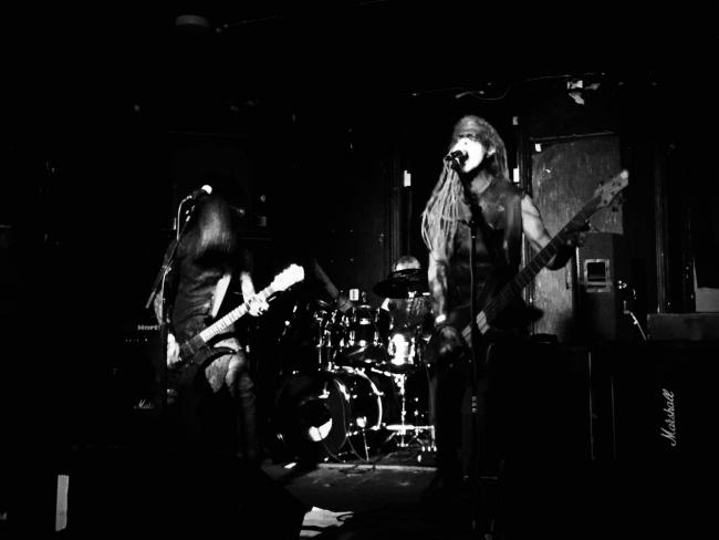 Norwegian black metal band Uburen at Star & Garter, Manchester