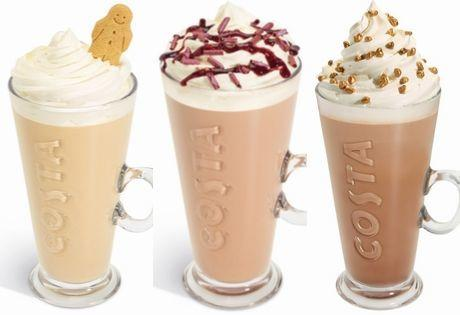 Christmas comes early to Costa customers