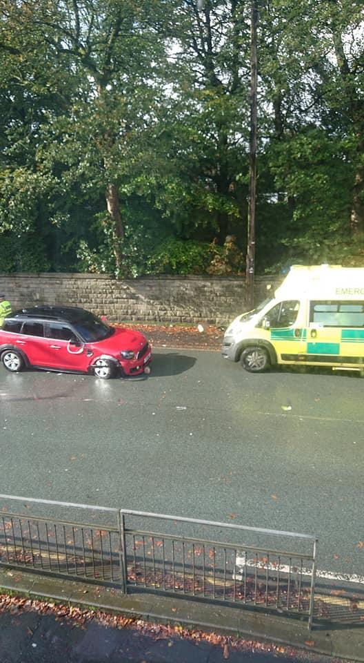 Man In His 70s Taken To Hospital After Crash At Canon Slade