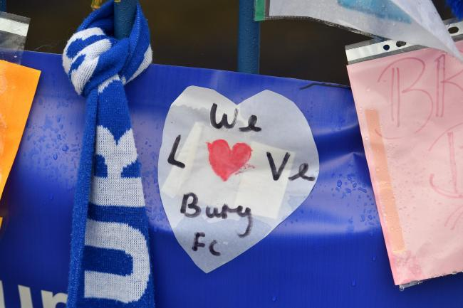 Bury FC face a High Court winding up hearing on October 16