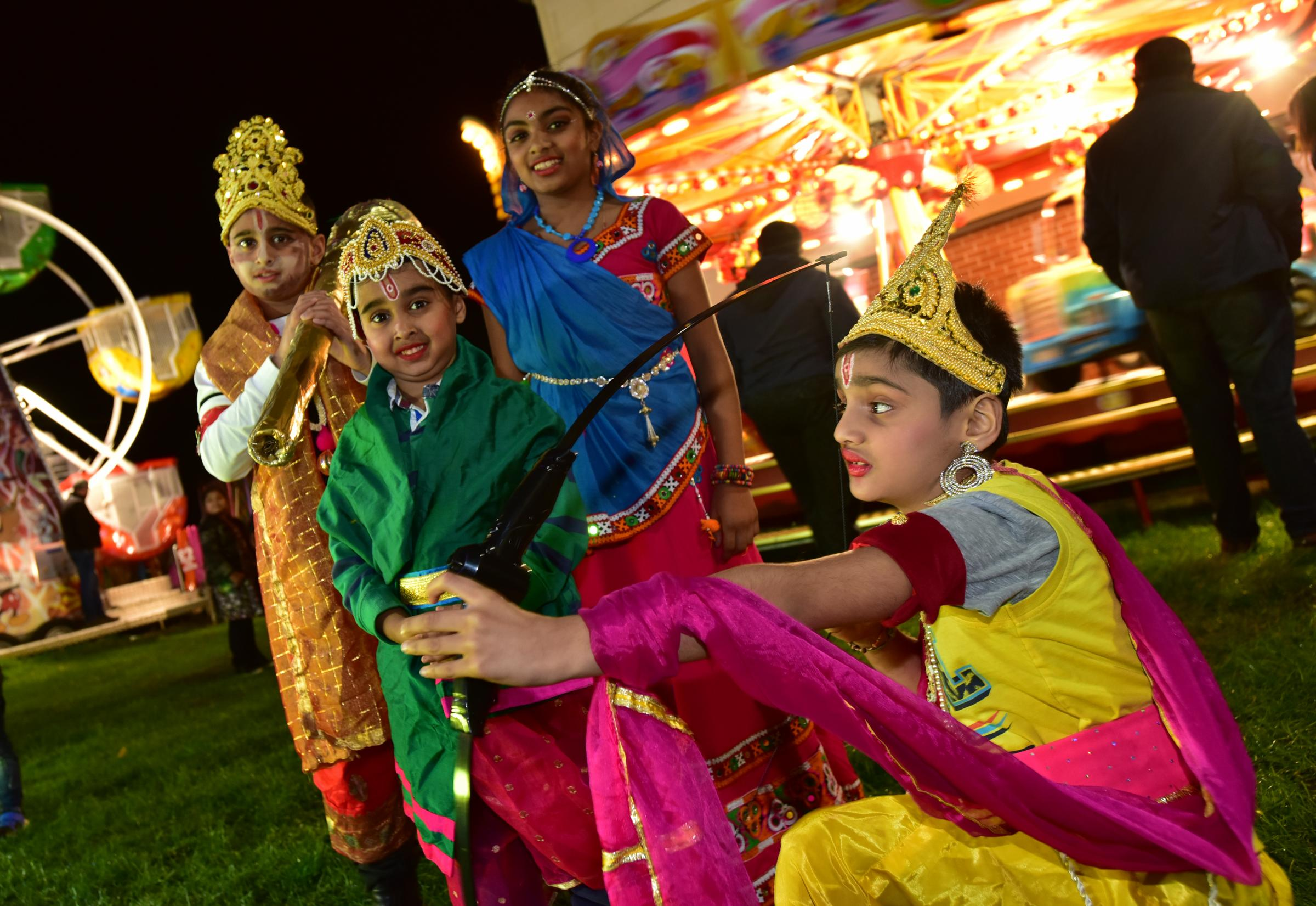 Pictures from Bolton's Dussehra celebrations 2019