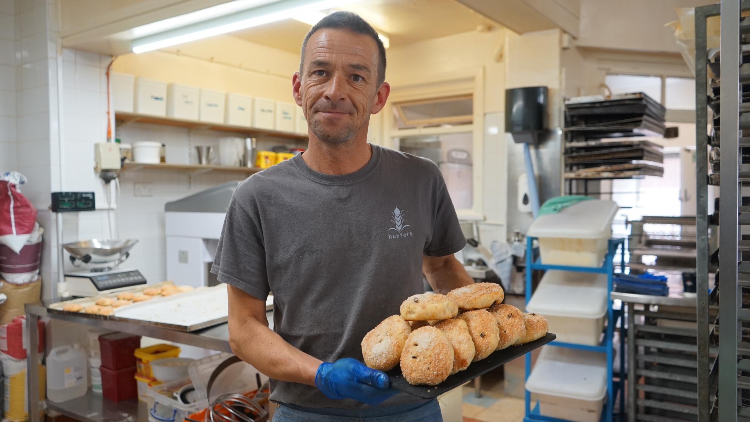 Bolton baker flies the flag for a traditional favourite